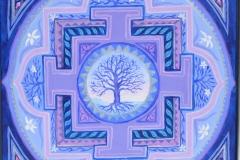 Livets træ violet
